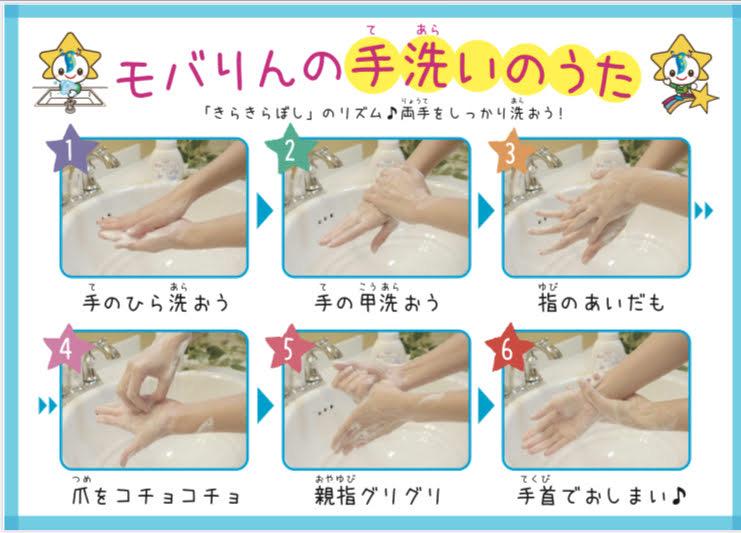 もばリンの手洗い動画制作